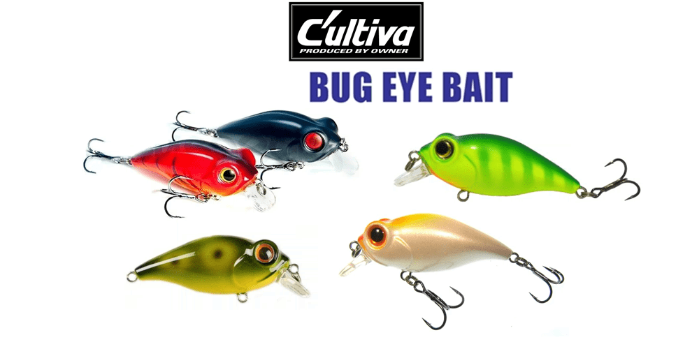воблер bug eye bait цена
