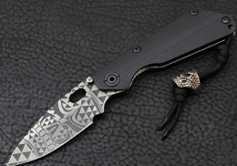 Складной нож Strider Starlingear Delta Kazi SNG Folding Knife
